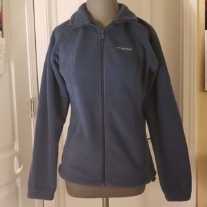 Lightweight Dark Navy Blue Zip Jacket